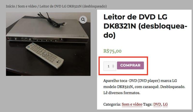 """WooCommerce: Como alterar a posição do botão """"Comprar"""" na página de produto?"""