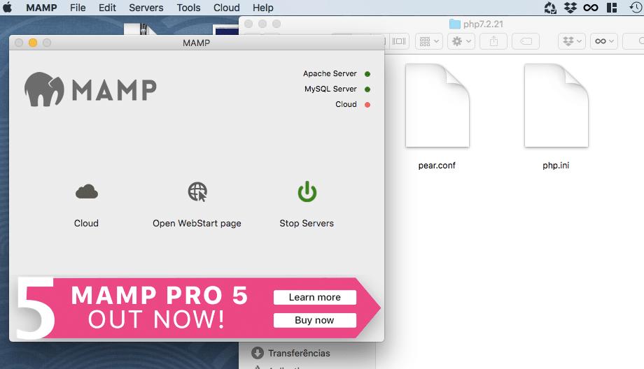Como ativar o relatório de erros do PHP no MAMP?